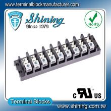TGP-050-09A 600V 50A 9 Pole Netzteil Spade Terminal Block
