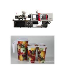 130 Mini Capacity Full Auto Plastic Injection Molding Machine with Servo