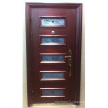 Glass Design Steel Security Door