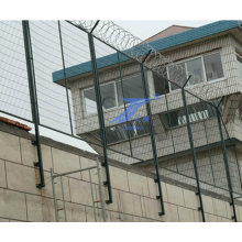 Безопасности и безопасности тюрьмы забор