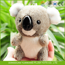 Fábrica OEM aceitar mini pelúcia koala urso chaveiro brinquedo