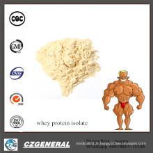 Isolat en vrac de protéine de lactalbumine de supplément d'approvisionnement de meilleur prix d'usine