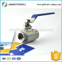 JKTL2B044 1000wog cf8m Válvula de esfera de segurança em ferro fundido flutuante de 2 peças