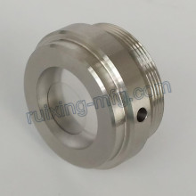Stainless Steel End Cover Assmbling with Acrylic Turning Part