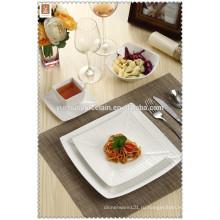 2015 оптовая квадратная форма новый дизайн фарфора ужин набор
