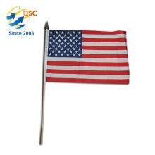 moins cher de polyester américain main drapeau International