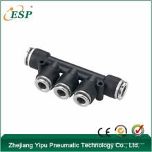 PYM zhejiang yipu k tipo cuerpo negro con latón botón triple rama unión