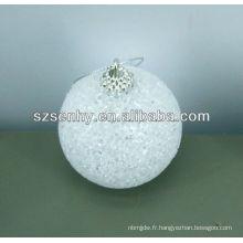 Vente en gros boule de Noël en acrylique