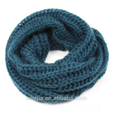 Ladies ombre knitted winter scarf