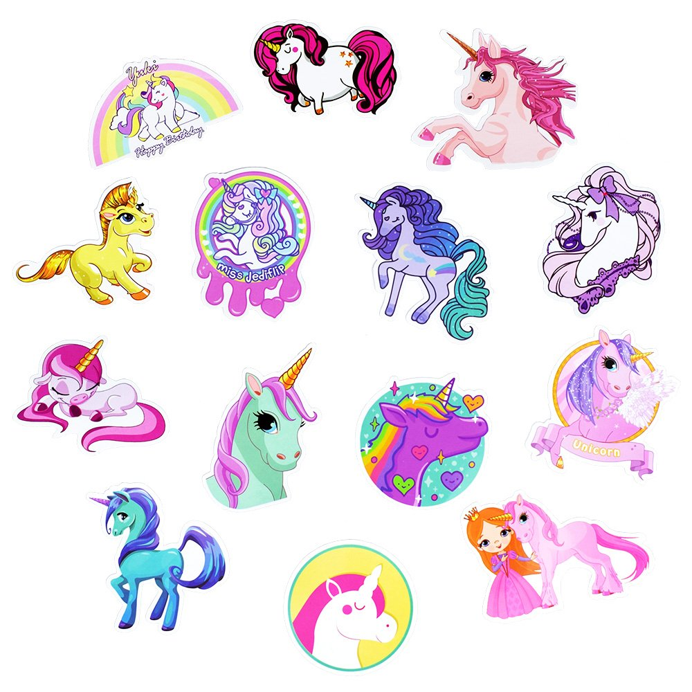 Unicorn Waterproof Vinyl Stickers 1