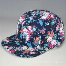 Chapeaux 5 panneaux personnalisés multicolores