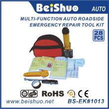28PCS Notfallausrüstung am Straßenrand für Auto