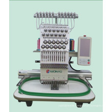 Computerized Single Head Embroidery Machine for Cap, T Shirt and Flat Embroidery