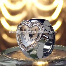 Сладкое сердце кольцо Смотреть кристалл кольцо Смотреть металл кольцо Смотреть много цветов кольцо смотреть JZB008