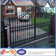Portões de metal de qualidade superior elegante