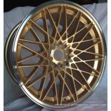 Linda roda de liga de ouro direto da fábrica