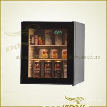 Deluxe Glass Door Refrigerator for Hotel