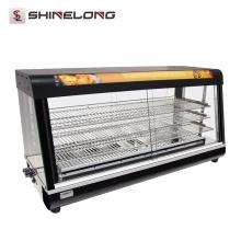 Handels3 / 4 Schicht-Wärmer-Schaukasten-heiße Nahrungsmittelanzeigenschränke
