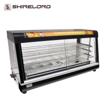 Commercial 3/4 Layer Warmer Showcase Hot Food monitores