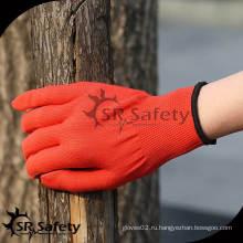 SRSAFETY 13 калибр Красный нейлон / полиэстер чистая комната перчаточный лайнер оптовые продажи
