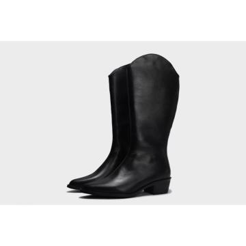 2021 winner high tube design sharp toes boots