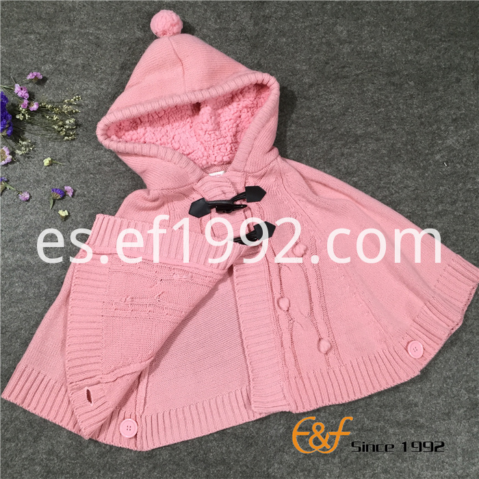 high quality cotton sweater poncho