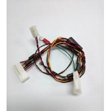 Teflon wire harness with ferrite cores
