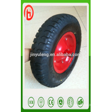 16inche lug pattern pneumatic rubber wheel ,4.00-8 air wheel ., wheelbarrow wheel4.80/4.00-8