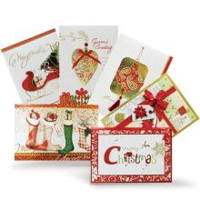 Cartão feito sob encomenda do Natal de alta qualidade