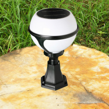 2013 hot sale outdoor CE solar lighting ball shape wall lamp for garden ,lawn