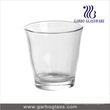 Coupe en verre transparent de haute qualité