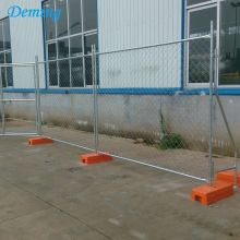 Temporary construction chain link  fence for sale
