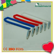 Pince à bavette dentaire extensible en plastique