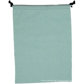 Wholesale reusable cotton wedding party gift small linen drawstring bag