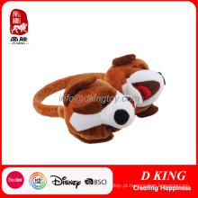 Venda quente orelha Muffs Plush Soft Stuffed Toys