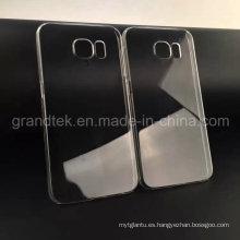 Caja transparente del teléfono celular de 0.5mm para Samsung Galaxy S6 Mobile Case