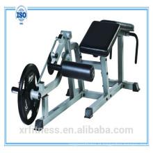 placa carregada equipamento de ginásio Horizontal Leg Curl Machine XR750