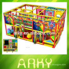 2015 hot selling kids indoor playground nursery play structure kids soft play toys