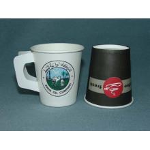 Einweg-Wand-Kaffeetasse mit Griff 8oz