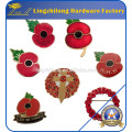Tiny Susie Remembrance Day Poppy Brooch