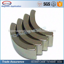 Sintered Rare Earth Arc/Segment Neodymium Magnet with Countersunk Hole