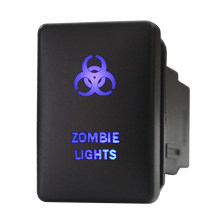 New Electrical Parts Dual LED Lights Push Button Switch for Toyota