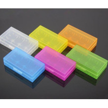 Красочная коробка хранения 18650 для батареи Пластиковая коробка