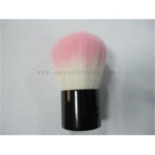 Brosse Kabuki à la mode à cheveux doux rose
