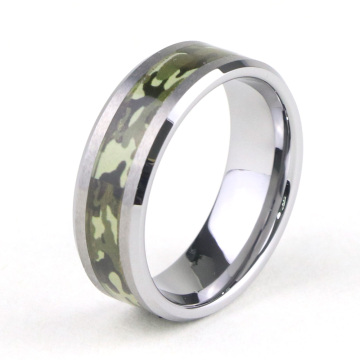 Tungsten Carbide Camo trouwringen voor hem