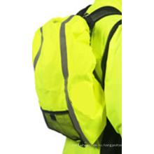 Флуоресцентный чехол на рюкзак со светоотражающими полосами