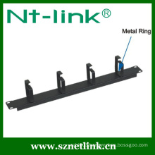 4 pcs metal ring cable management flexible
