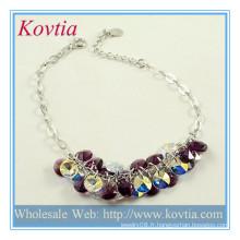 Bijoux à la mode bijoux en argent bijoux en gros bracelet en chaîne en argent bijoux