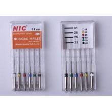 Использование зубных нитей Niti
