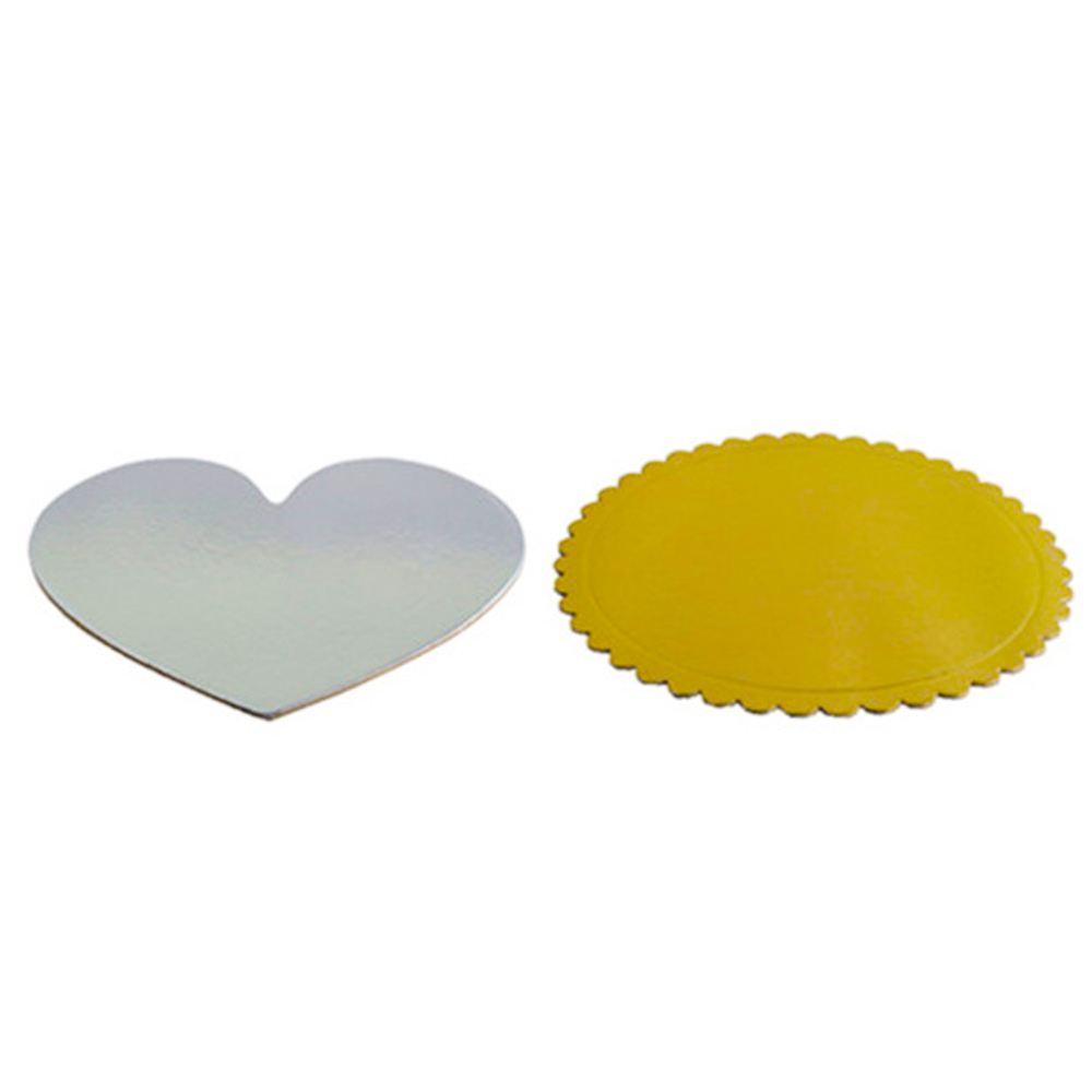 heart shaped cake boards